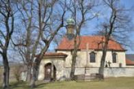 Kostel svatého Jana Nepomuckého.