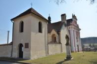 Kostely sv. Kateřiny a sv. Ludmily.