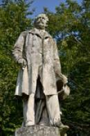 Detail socha Friedricha Wilhelma von Hanau.