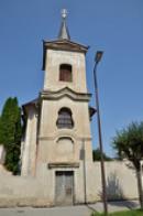 Hřbitovní kostel sv. Rocha.