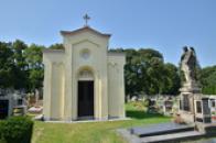 Hřbitov v Žebráku.