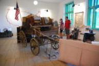 Expozice věnovaná odchodům do Ameriky.