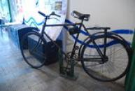 Historický bicykl.