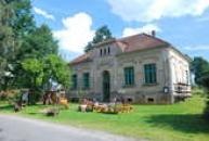 Muzeum v budově staré školy.
