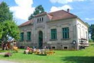 Muzeum v budově školy.