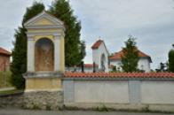 Kaplička se sv. Veronikou.