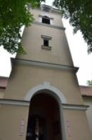Věž kostela sv. Ducha.