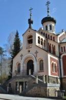 Pravoslavný kostel svatého Vladimíra.