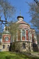Pohled na kostel svatého Vladimíra.