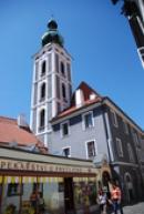 Kostel svatého Jošta.