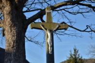Detail kříže.