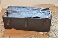 Cestovní kufr z 19. století.