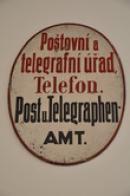 Poštovní a telegrafní úřad.
