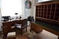 Poštovní kancelář.