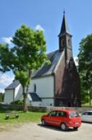 Pohled na kostel Božího těla.