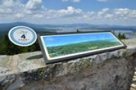 Výhled na Šumavu.