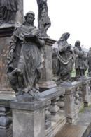 Barokní sloup Nejsvětější Trojice.