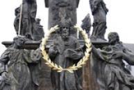 Sloup Nejsvětější Trojice v Blíževedlech.
