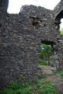 Interiéry dávného hradu.