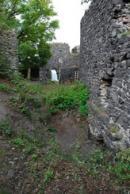 Záběr z areálu hradu.
