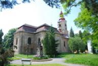 Kostel svatého Zikmunda.