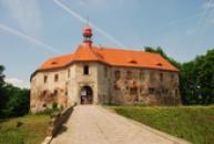 Renesanční zámek ve Stráži pod Ralskem.