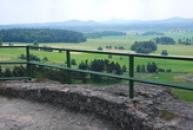 Krásný výhled do Máchova kraje.