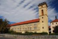 Oblastní muzeum v Chomutově - bývalé Jezuitské gymnázium.