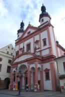 Kostel sv. Ignáce.