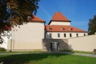 Zahrady u kadaňského hradu.