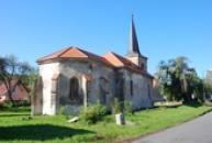 Kostel svaté Barbory.
