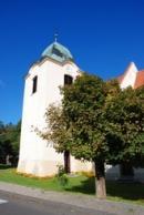 Kostel Nanebevzetí Panny Marie v Mašťově.
