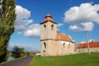 Kostel sv. Jana Evangelisty.