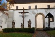 Horní zámek - vstup.