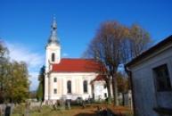 Kostel sv. Antonína Paduánského z roku 1782.