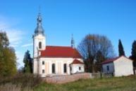 Kostel sv. Antonína Paduánského.