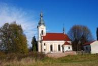 Kostel z roku 1782.