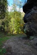 Malebný kaňon Chřibské Kamenice.