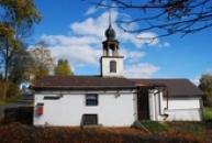 Náhorní vesnička nedaleko Jetřichovic.