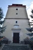 Věž kostela sv. Michaela.