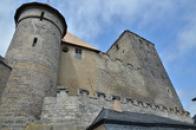 Okrouhlá věž a jádro hradu.