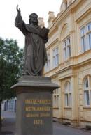 Nejstarší pomník mistra Jana Husa v Čechách.