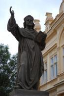 Nejstarší pomník mistra Jana Husa u nás.