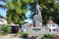 Pomník mistra Jana Husa odhalený 6. července 1925.