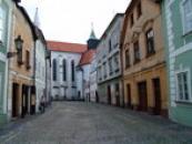 Záběr ze Svatojánské ulice.