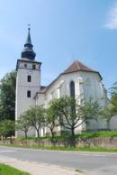 Kostel Jana Křtitele v Kardašově Řečici.