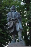 Detail sochy Jakuba Krčína.