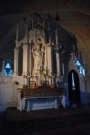 Oltář v kapli.