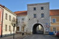 Jemnická nebo též Horní brána.
