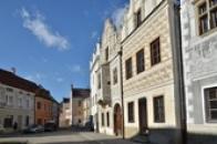 Fasády renesančních domů.